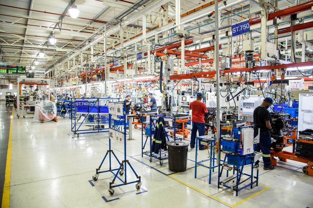 Plant Tour with Ford Motor Company of Southern Africa