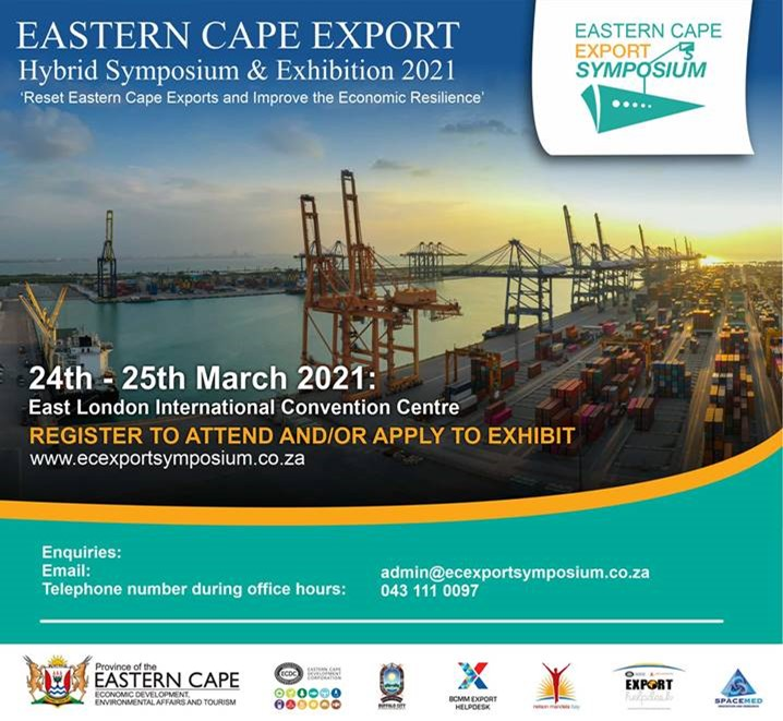 Hybrid Eastern Cape Export Symposium and Exhibition – 24 & 25 March 2021