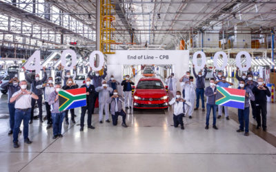 Volkswagen plant in Kariega produces 400 000th Polo