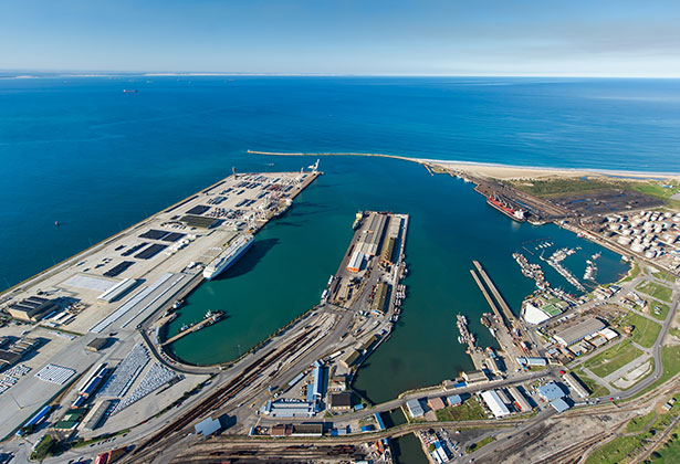 President announces 'a new era for South Africa's ports'